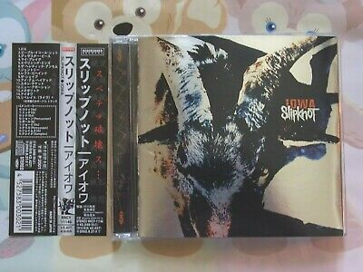 Slipknot IOWA 15tracks Japan Bonus Track Album Music CDs w/OBI Japan Used