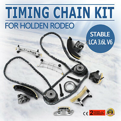 Timing Chain Kit For Holden Rodeo 2007-2015 Alloytec 3.6L V6 LLT LFX SI DI