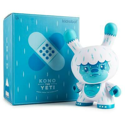 NEW! Kidrobot Kono The Yeti Ice Blue Dunny 8-Inch Art Figure by Squink