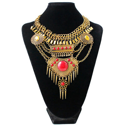 Gorgeous Jewelry Rhinestone Silver/Gold Plated Lady Girl Necklace