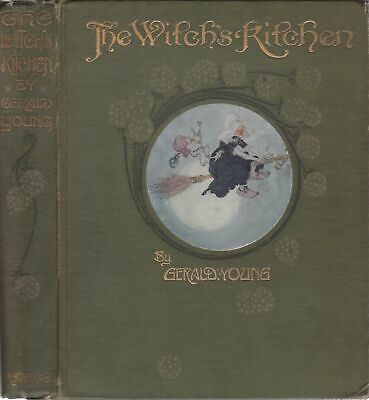 Rare 1910 The Witch's Kitchen India-Rubber Doctor Gerald Young Willy Pogany Art