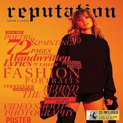 Taylor Swift - Reputation Volume 1 (Special Edition) - Cd - New