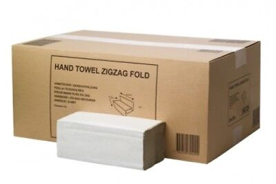 Tork Sca H3 Zigzag Hand Towel Natural 24.8Cm X 23Cm Carton (20 Packs)