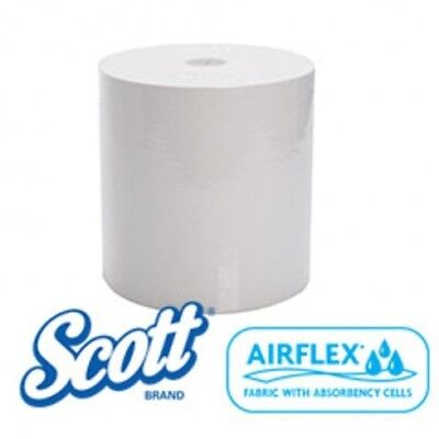 Kimberly Clark Scott 44199 Roll Towel White Carton (8 Rolls)