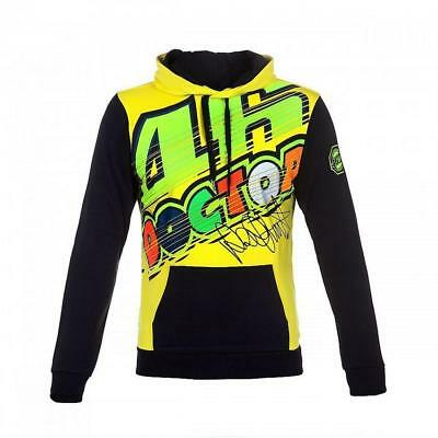 GENUINE Valentino Rossi VR46 Moto GP The Doctor ADULT Hoodie Fleece Official