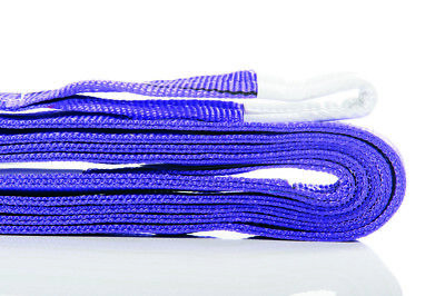 New Flat Lifting Slings 1Tonne Rated 0.5M To 6M Long - Aus Standards Compliant.