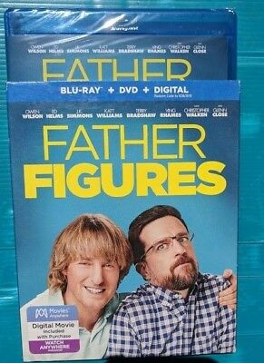 NEW Father Figures Blu-ray & DVD NO DIGITAL BLUERAY bluray disc movie Comedy