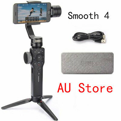 Zhiyun Gimbal Stabilizer Smooth-4 3-Axis Handheld for Smartphone  Gropo4 5