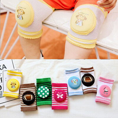 1Pc Baby Toddler Infant Crawling Knee Elbow Pad Kids Crawl Safety Protector AU