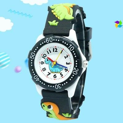 Kinder Uhr Bunte Student Sport Digital cartoon Muster Armbanduhr Quarzuhr mode