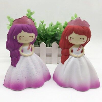 Soft Slow Rising Princess Squishy Squeezable Decompression Toy Girls Room Decals