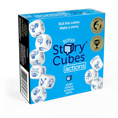 Rory's Story Cubes Actions - Imaginative Storytelling - Family Dice Game