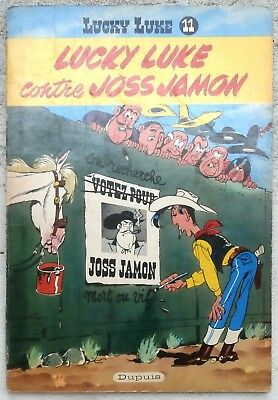 Lucky Luke Contre Joss Jamon EO belge 1958 BE+/TBE Morris Goscinny