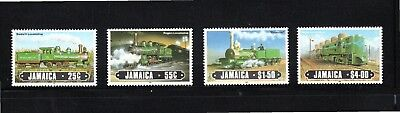 Jamaica 1984 Railway Locomotives SG 634/7 MUH