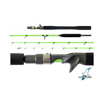 FISHING ROD ARTICO SLOW PITCH SLS STRONG 6'.6'' 2.0mt 250-400g ON RINGS FUJI
