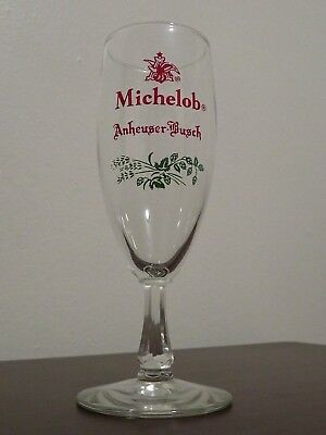 Vintage Anheuser Busch Michelob Footed Beer Glass