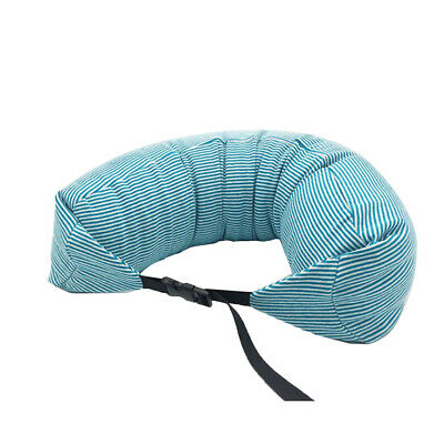 U Shaped Particles Neck Pillow Head Support Car Plane Travel Soft Cotton