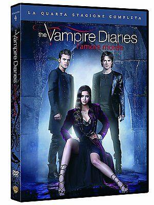 The Vampire Diaries - L'amore morde - Stagione 4 (5 DVD) - ITALIANO ORIGINALE -