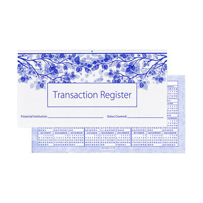 10 Checkbook Registers 2018-2019-2020 Calendars