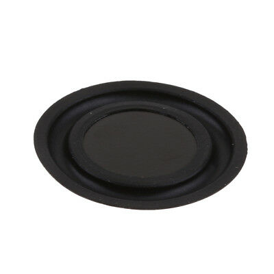 40mm Speaker Vibrating Membrane Passive Bass Diaphragm Plate Black