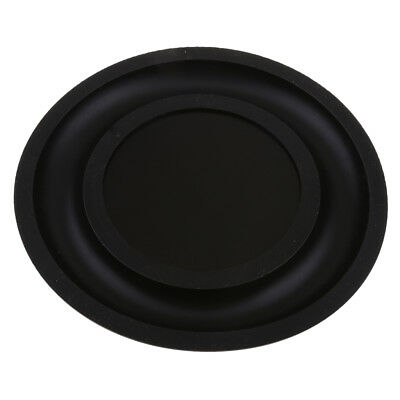 6.5''Speaker Vibrating Membrane Passive Bass Diaphragm Plate Black 160mm