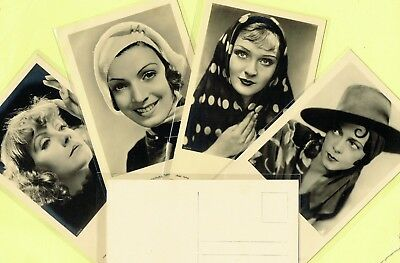 ROSS VERLAG - 1930s Film Star Postcards produced in Germany #6331 to #6450