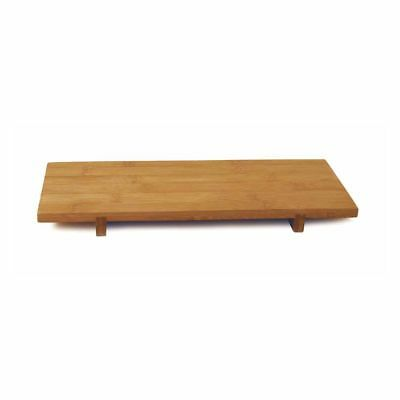 Front Of The House RTR007BBB12 Bali Rectangular Footed Amenity Tray