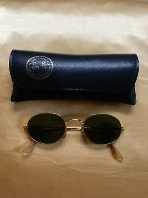 Sonnenbrille Ray Ban Original Vintage Bausch&Lomb gold oval