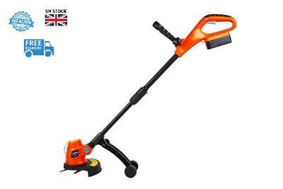Cordless Grass Trimmer Brushcutter Kit Including 18v Lithium Battery And Charger