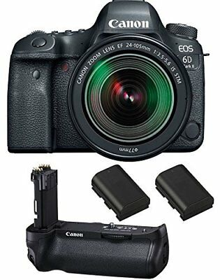 Canon EOS 6D Mark II DSLR Camera with EF 24-105mm f/3.5-5.6 IS STM Lens