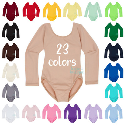The Leotard Boutique Long Sleeve Leotard for Infants, Toddlers and Girls