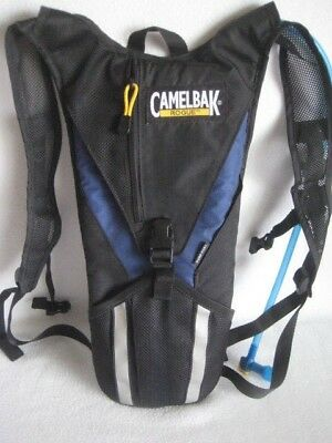 a3eed9672fb CamelBak Rogue 70 oz 2L BLUE & Black Hydration Pack Water Camelback W  Bladder