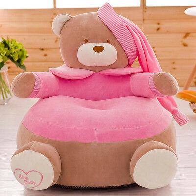 Children Seat Sofa Cover Kids Armchair Baby Playroom Stuffed Toy Bean Bag