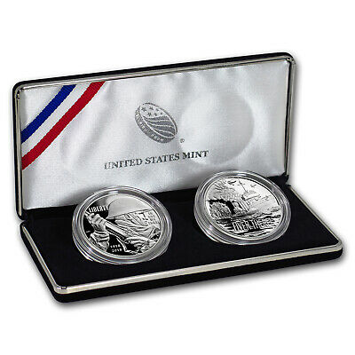2018 World War I Centennial Silver Dollar Navy Medal Set - SKU#159200