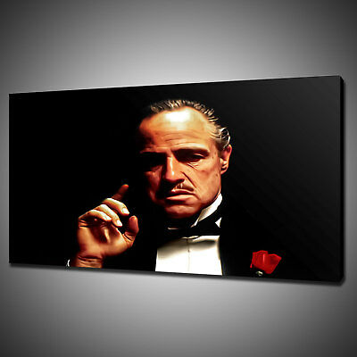 Marlon Brando The Godfather Canvas Picture Print Wall Hanging Art Home Decor