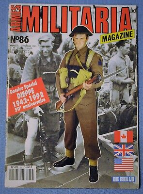 Militaria Magazine No. 86 - Canada Edition September 1992