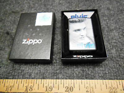 Zippo Lighter Elvis Presley Mint In The Box