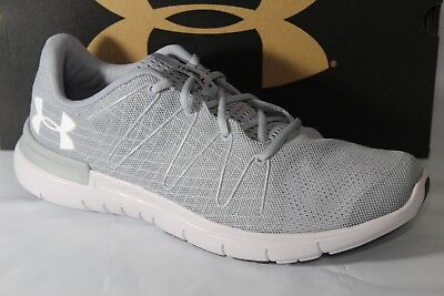 new styles 72bda ef72b UNDER ARMOUR UA Thrill 3 Men's Running Shoes, Sizes 8.5 & 10, Grey,  1295736-101