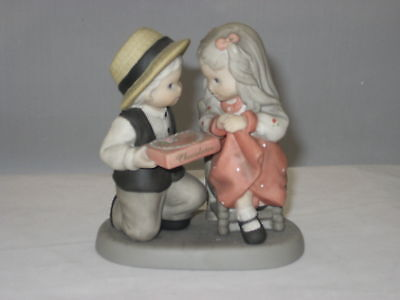 Kim Anderson Enesco Collectable Figurine Life's Sweetest Moments Made Sweeter