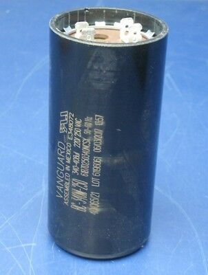 Vanguard BC-340M-250 Motor Start Capacitor 340-408 uF 220-250 VAC
