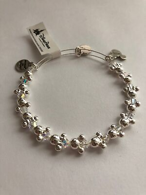 Disney Minnie Icons Wrap Alex and Ani Silver Finish New with Tags