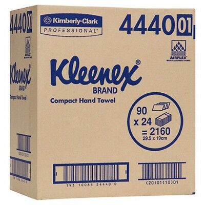 Kleenex Paper Hand Towel 4440 24 Packs of 90 Towels