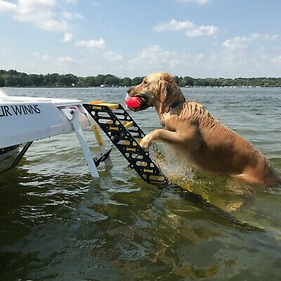 WAG Dog Boarding Steps for Recreational Boats (vs. Ladders/Ramps/Platforms)