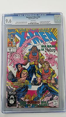 The Uncanny X-Men 282 CGC 9.6 1st Bishop, Malcolm & Randall