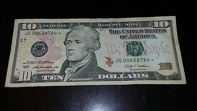 10 dollar star note 2009