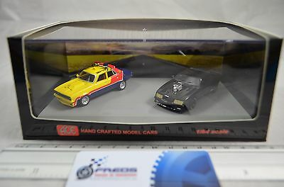 1:64 Mad Max MFP & Interceptor Twin Set - ACE Hand Crafted Diecast Model Cars