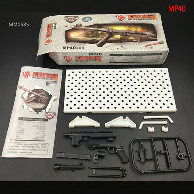 "1/6 Scale World War German MP40 Submachine Gun Assembly ver For 12""Action Figure"