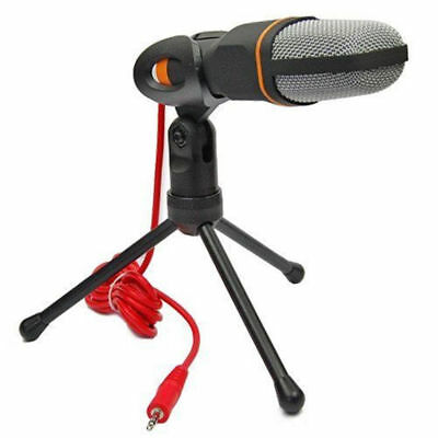Professional Condenser Sound Recording Microphone Mic +Stand For PC Skype Msn