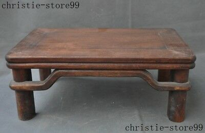 A Old China Chinese Huanghuali wood Tea ceremony Tea table
