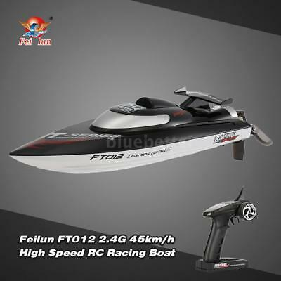 Original Feilun FT012 RC Boat 2.4G Brushless 45km/H Water-Cooling System J5O9